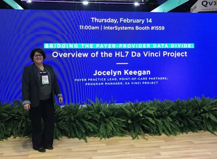 Jocelyn at HIMSS