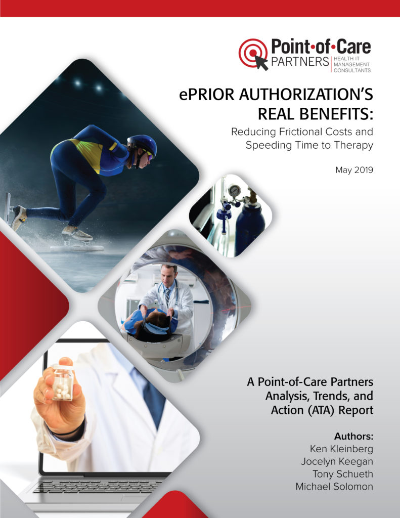 Eprior Authorization S Real Benefits Reducing Frictional